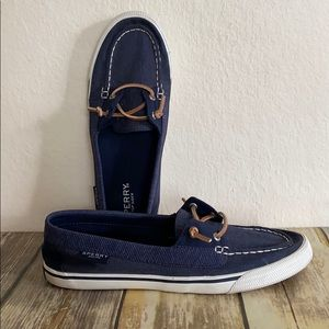 Sperry Denim Boat Shoes